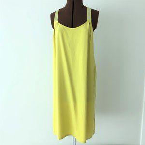 NWT Yellow Tank Racer Back Dress  Size 38